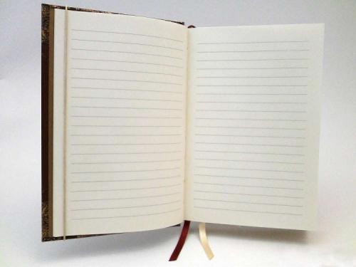Notes metalizowany ZAMEK