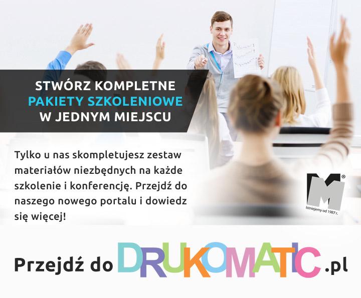 Kompletne zestawy szkoleniowe znajdziesz na Drukomatic.pl