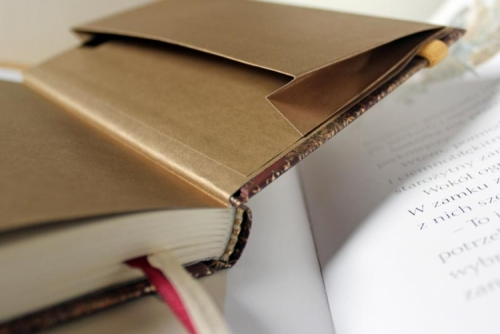 Notes metalizowany POCAŁUNEK
