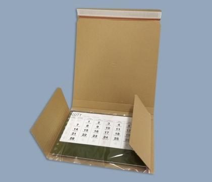 Karton wysyłkowy do kalendarzy trójdzielnych