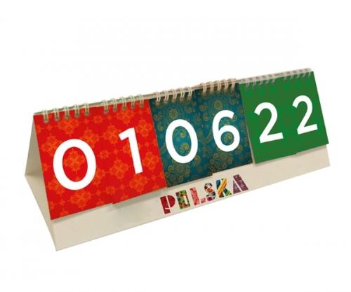 Kalendarz biurowy stojący NARODOWY