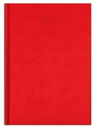 Kalendarz książkowy tygodniowy B5 CZERWONY